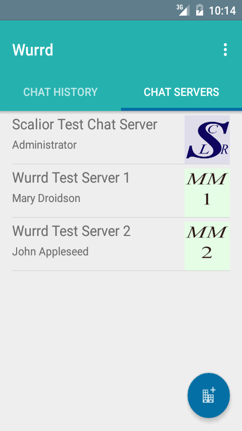 Multiple Chat Servers